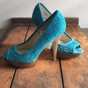 NWT!! Enzo Angiolini platform heels
